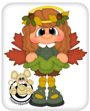 Autumn Angel - Treasure Box Designs Patterns & Cutting Files (SVG,WPC,GSD,DXF,AI,JPEG)