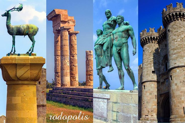 Some of the many landmarks/faces of the #Island...   #Rhodes #Rodos #Greece