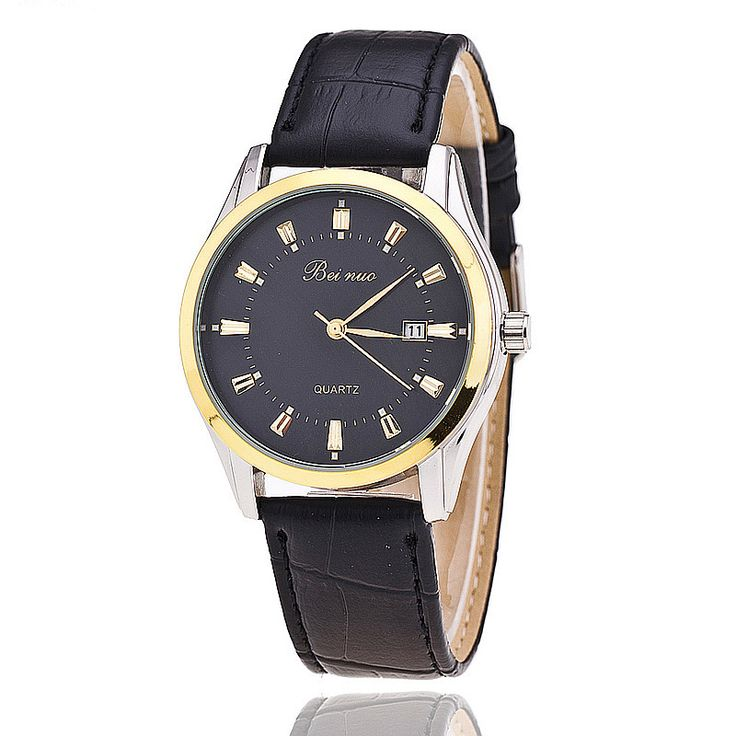 Cheap watch, Buy Quality lot dictionary directly from China watch case removal tool Suppliers: Men Watch Luxury Brand Beinuo Quartz Watches Leather Watch Casual Wristwatch Male Clock Relojes Hombre Relogio Masculino