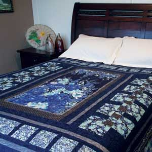 82 best queen size quilts images on pinterest queen quilt queen moonlit reflections asian inspired queen size quilt pattern designed by kate colleran machine quilted by fandeluxe Image collections