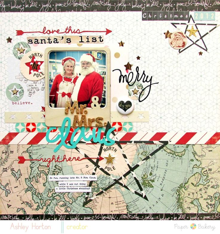 Mr. & Mrs. Claus2 Maps + DD inspiration?  Yes please :) @Michelle Blue