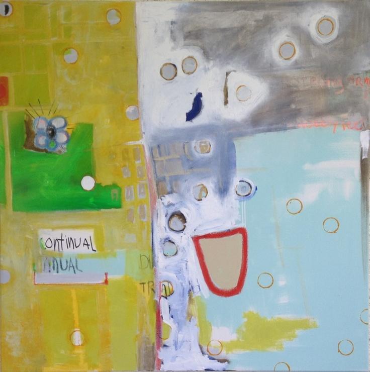 """Saatchi Online Artist: Borg de Nobel; Oil, Painting """"Coz Change is Allways Moving"""""""