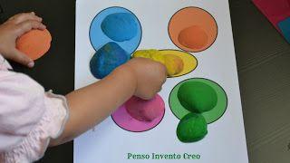 Giochi fai da te per bambini da 0 a 2 anni: conchiglie e colori, in casa e in viaggio