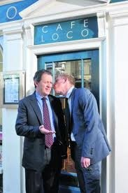 Kevin Whately & Laurence Fox