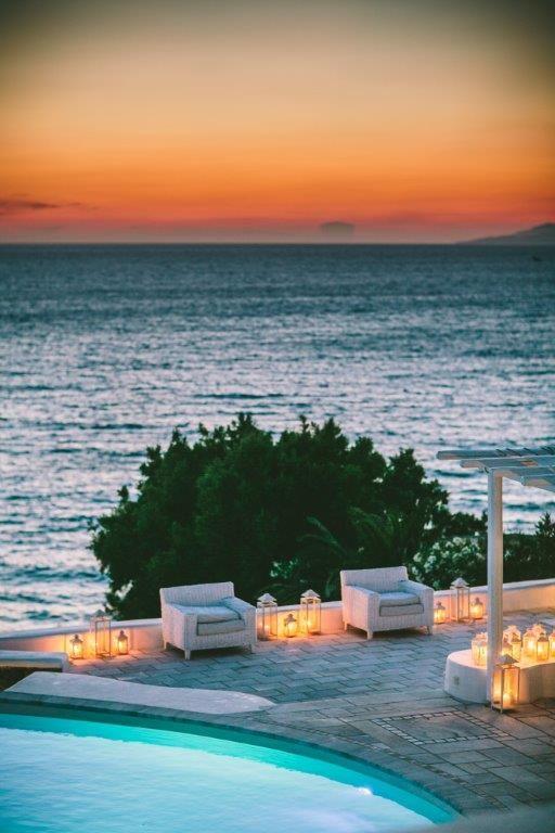 Mykonos Wedding in a Private Villa   Wedding in Greece by Stella & Moscha   Bespoke Wedding Design   Photo by George Pahountis