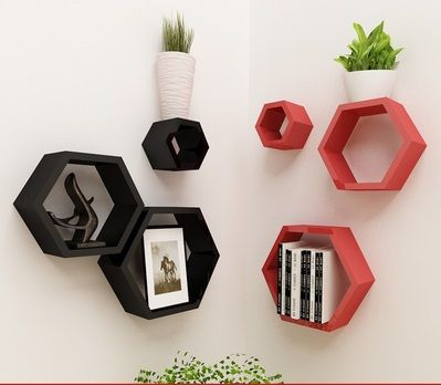 3-Diamond-font-b-Hexagon-b-font-Lot-Colorful-PU-Lacquer-Wall-Floating-font-b-Shelf.jpg (399×348)