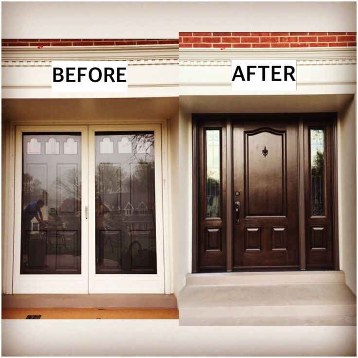 Great Before and After picture!  Let us help you take your windows and doors to the next level! Please call NEXT for all of your window and door needs. 630-590-1201.