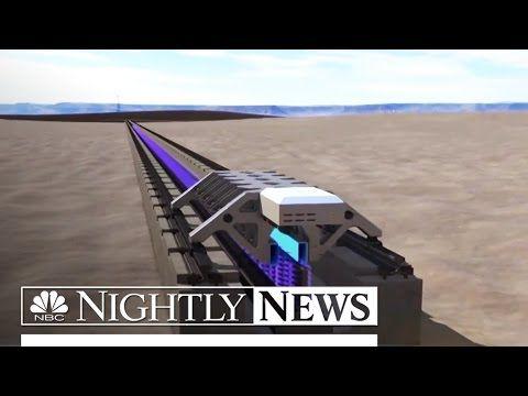 NBC News: Elon Musk's 'Hyperloop One' Successfully Tests Propulsion System | NBC Nightly News