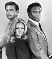 THE SILENT FORCE (1970-71).  Bruce Geller (Mission: Impossible) executive produced this half-hour series about three Federal agents--played by Ed Nelson, Percy Rodriguez, and Lynda Day George. (It's not 60s...but close)