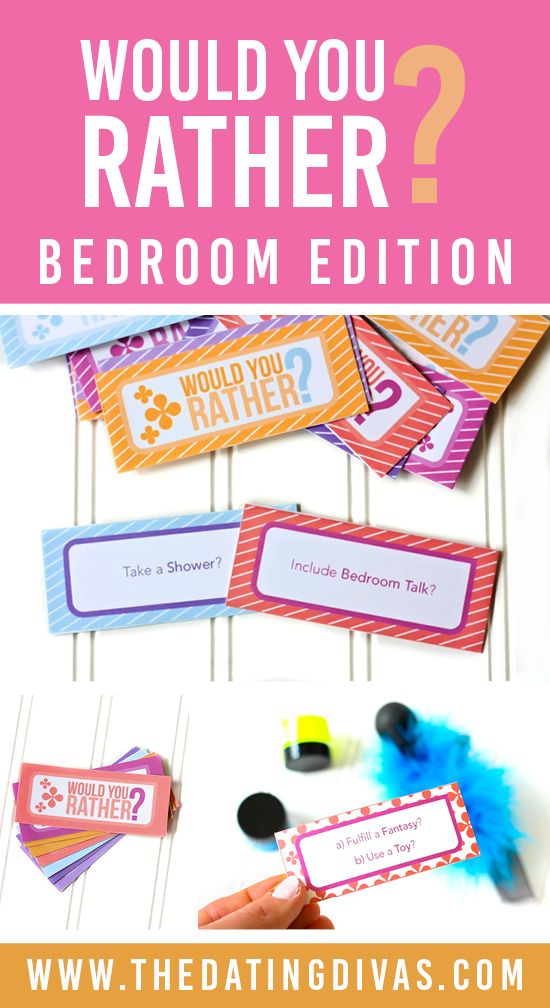 Oh, a new bedroom game! Printables designed by www.ifactually.com for www.TheDatingDivas.com