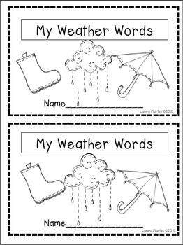 Number Names Worksheets vocabulary lessons for kindergarten : 1000+ images about Weather Unit on Pinterest