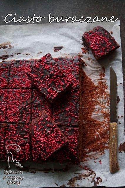 Kulinarne przygody Gatity: Ciasto czekoladowo-buraczkowe