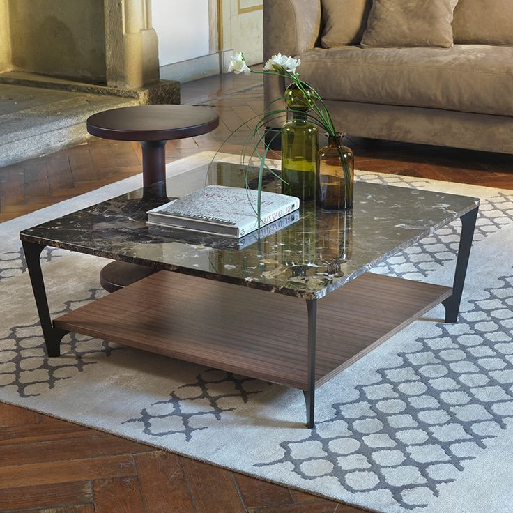 Stone Coffee Tables With Modern Style: Soho Marble Coffee Table, Square 90cm …