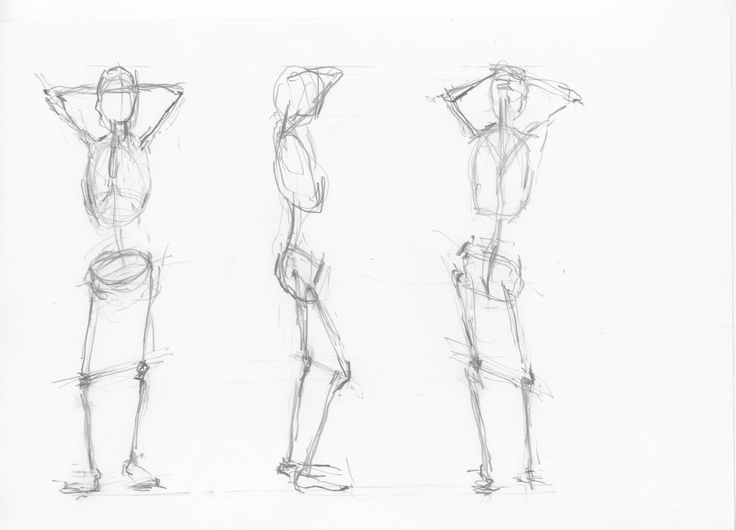 week 1 gesture drawing assignment 9 min