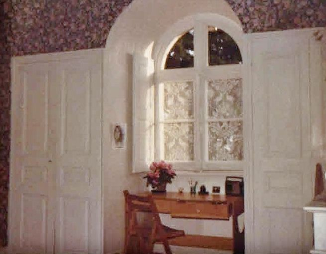 A Photograph Of My Bedroom At The Chateau Where I Was An Au Pair