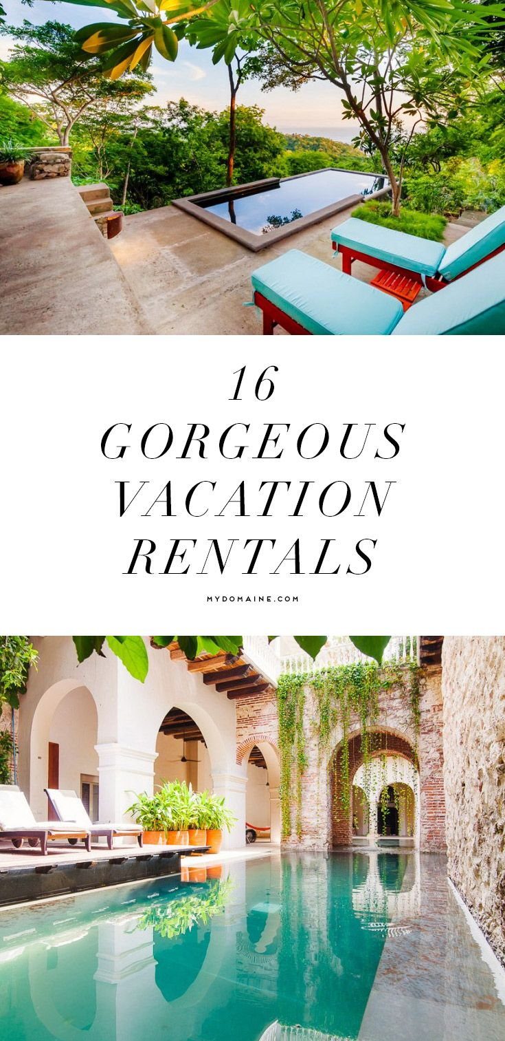 Vacation rentals for you to swoon over
