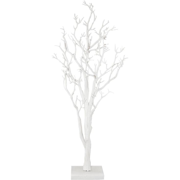White Twig Tree 104cm may work for front room