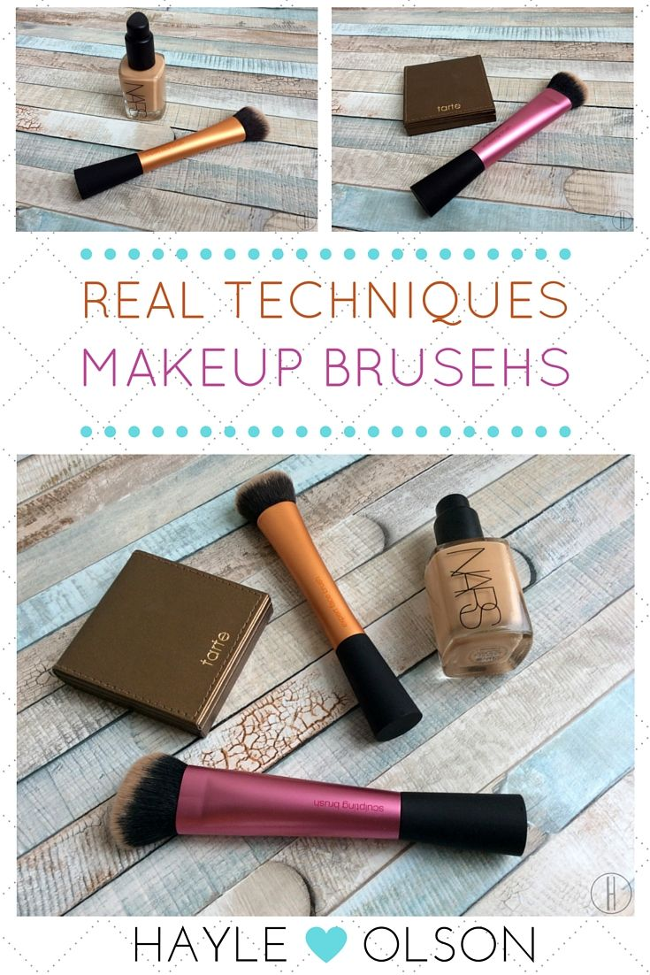 Real Techniques Makeup Brushes | Hayle Olson | www.hayleolson.com