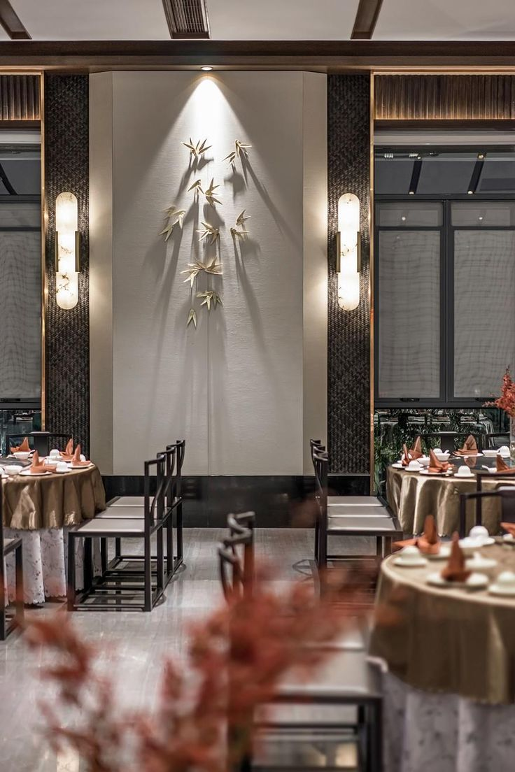 Han Shang Lou Restaurant Perfect Combination of Color