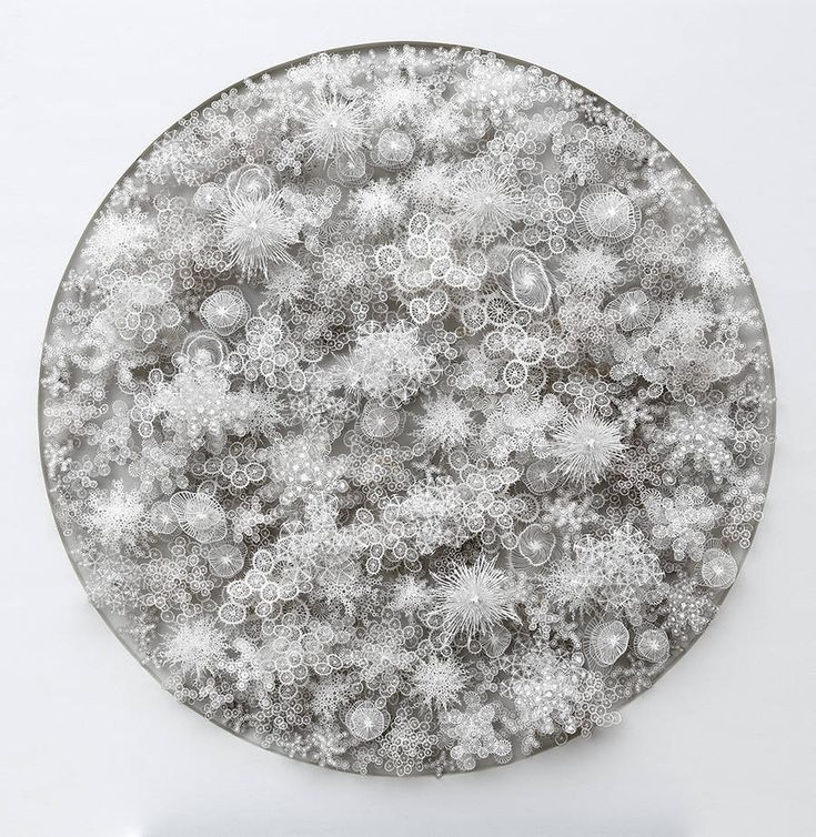 New Laser Cut Paper Microbes by Rogan Brown – Fubiz Media