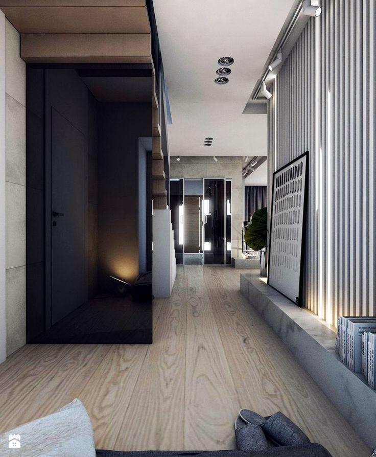 Hol / Przedpokój styl Minimalistyczny - zdjęcie od A2 STUDIO pracownia architektury - Hol / Przedpokój - Styl Minimalistyczny - A2 STUDIO pracownia architektury