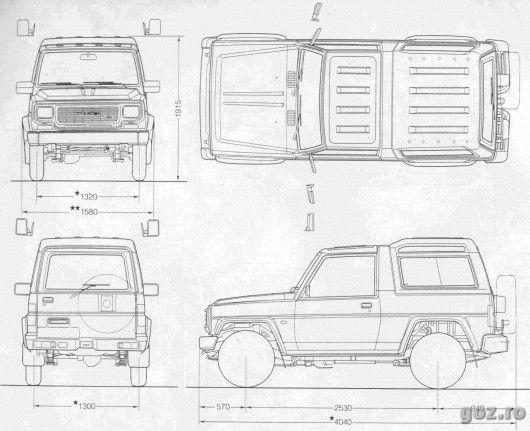 11 best daihatsu images on Pinterest: Daihatsu Rocky Engine Diagram at e-platina.org