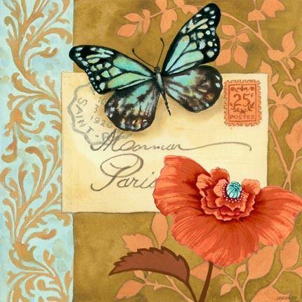 Printables - Blue butterfly - Jennifer Brinley