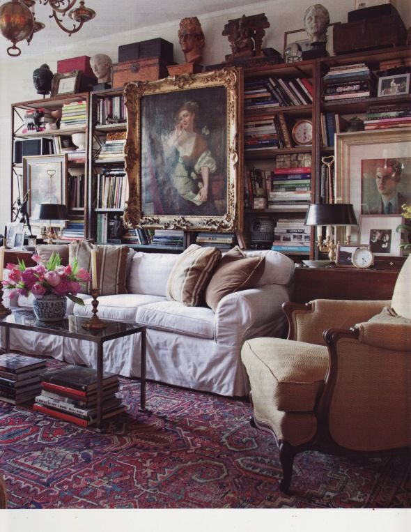 .cluttered, timeless and beautiful
