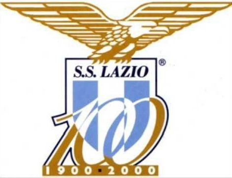 SS LAZIO  badge centenary used 2000s
