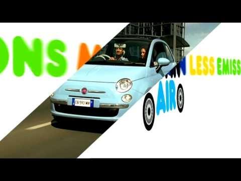 Fiat 500 TwinAir - Less Emissions, More Fun