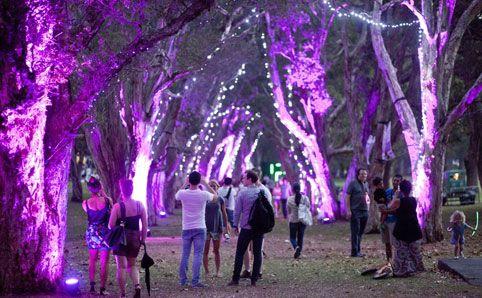 Centennial Park, Sydney - The Light Garden
