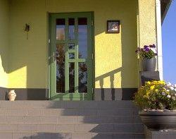 Двери входные деревянные (классические)