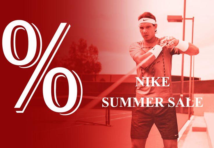 teniSShop anunta NIKE SUMMER SALE! Reduceri la toata gama de echipament NIKE de la teniSShop ---> http://www.tenisshop.ro/Nike.html