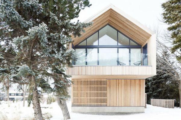 Toll Dach schnee holz | Architektur | Pinterest | Holzhaus, Haus ...