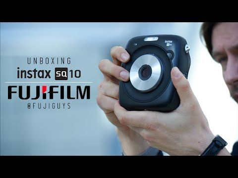 (16) Fuji Guys - instax SQ10 - Unboxing and Getting Started - YouTube