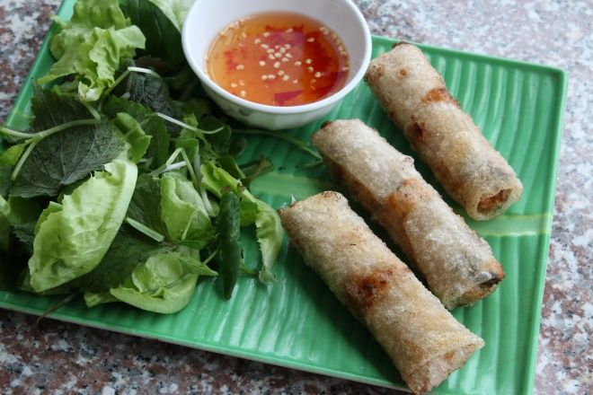 how to make vietnamese fried spring rolls