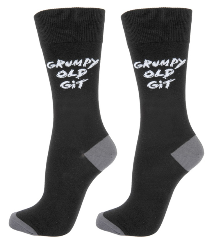 Grumpy Old Git Socks — Present Finder - Birthday ideas and unusual presents UK~love this site x