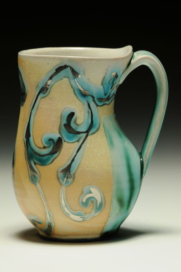 258 best images about ceramic cups on pinterest ceramics for Clay mug ideas