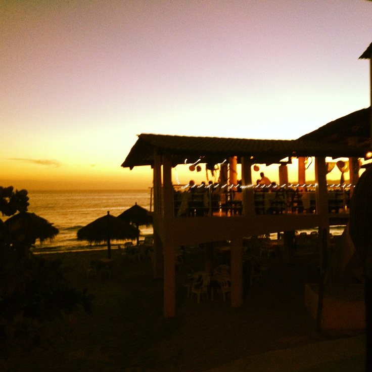Dinner Dugarel's #sunset #bucerias