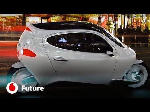 A incrível moto elétrica que nunca cai - Vodafone Future - JN