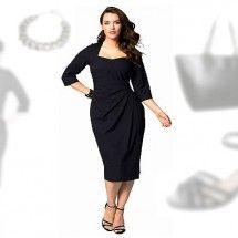 Abendoutfit für mollige Damen http://www.fancybeast.de/festliche-kleider-fuer-mollige-damen-abendoutfit/ #Abendkleider #Kleider #Mollig #Dick #Übergrößen #Dress #Fashion #Abendoutfit #Outfit festliche Kleider für mollige Damen