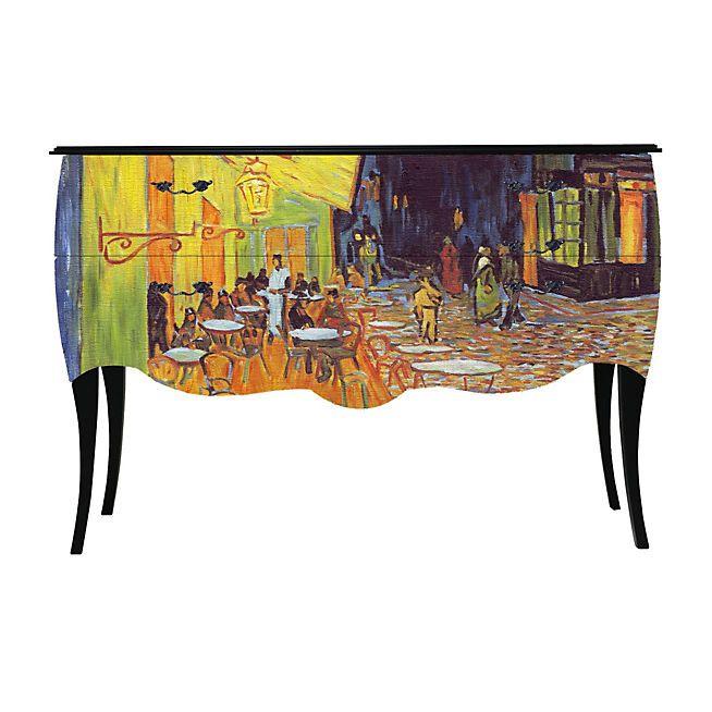 Print Baroque - Van Gogh Grande commode à 2 tiroirs - Imprimé tableau de Maitre