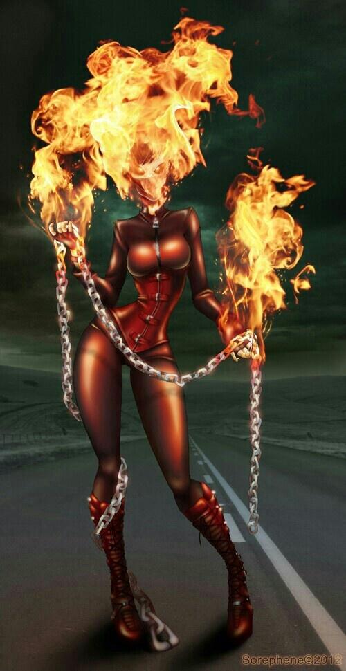 Lady Ghost Rider a.k.a. Alejandra Jones