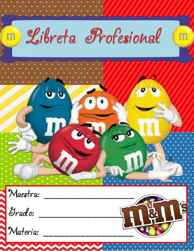 Libreta profesional 2014 M&M by Olga Martínez via slideshare