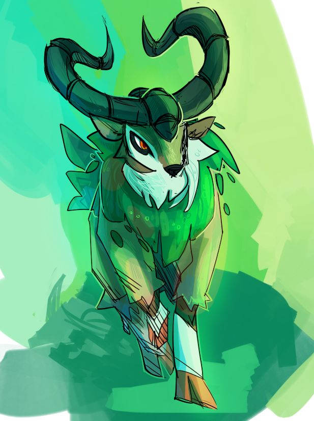 This is my Gogoat, Cliffhanger. I love riding him, and try to hang on when he climbs mountain cliffs and rocks. He is the bigger brother of my Skiddo, Skipper, and is a Level 34. Cliffhanger may be sassy but he gets me to places!