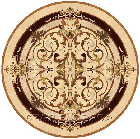 Details, description and price for Leyla in Wood Medallions for flooring