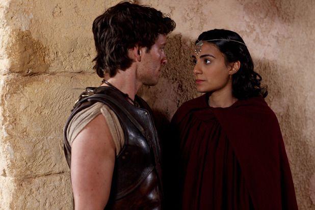 Jason with Ariadne ~ Atlantis Season 1 Episode 2