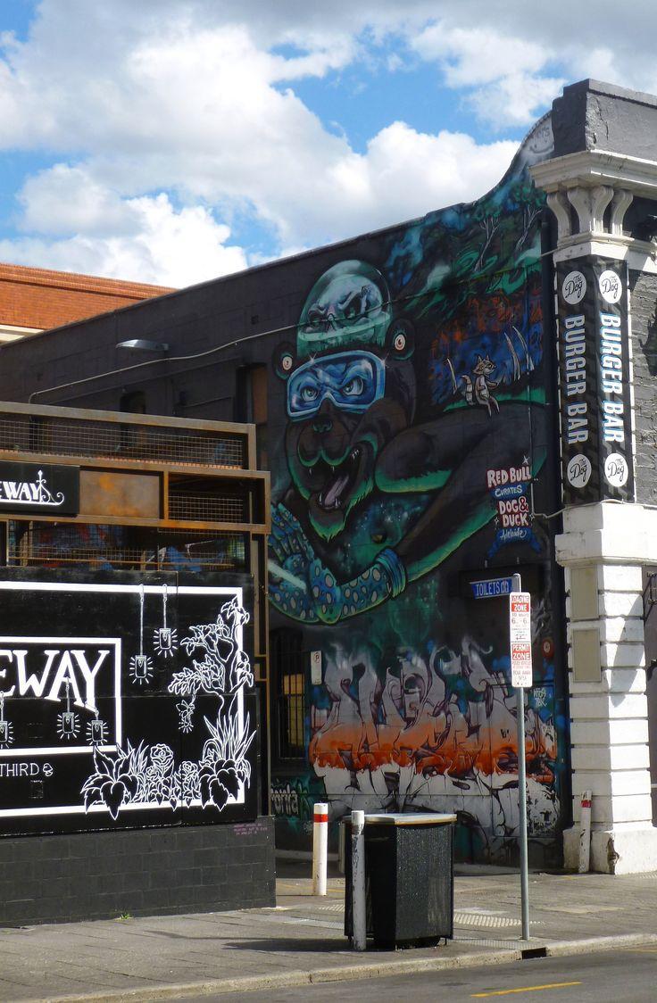 Streetart in Adelaide - Australia