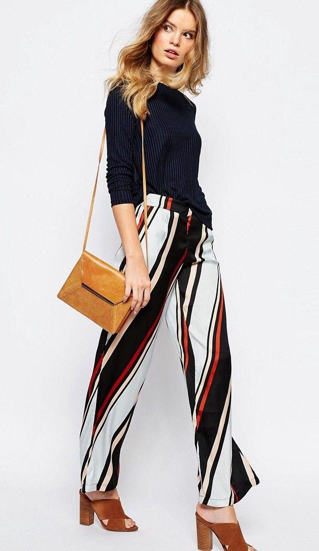 Préférence Oltre 25 fantastiche idee su Pantaloni larghi su Pinterest  YJ58