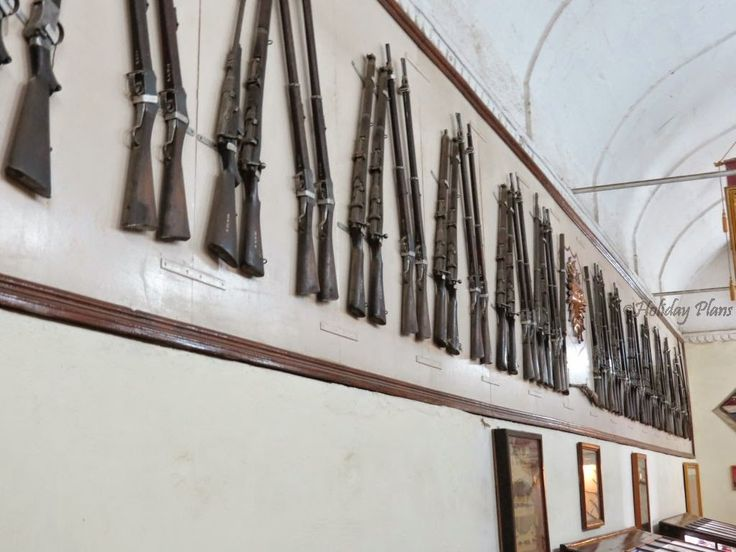 http://planning4holidays.blogspot.in/2014/12/udaipur-venice-of-east-chittorgarh.html .. Weapons dating back to royal time .. #venice #east #lake #city #rajput #historic #Mewar #agency #beautiful #capital #kingdom #Udaipur #Rajasthan #India #HolidayPlans #weapons #old #time #date